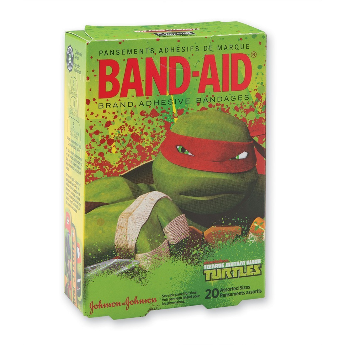 Band-Aid Teenage Mutant Ninja Turtles Bandages [image]