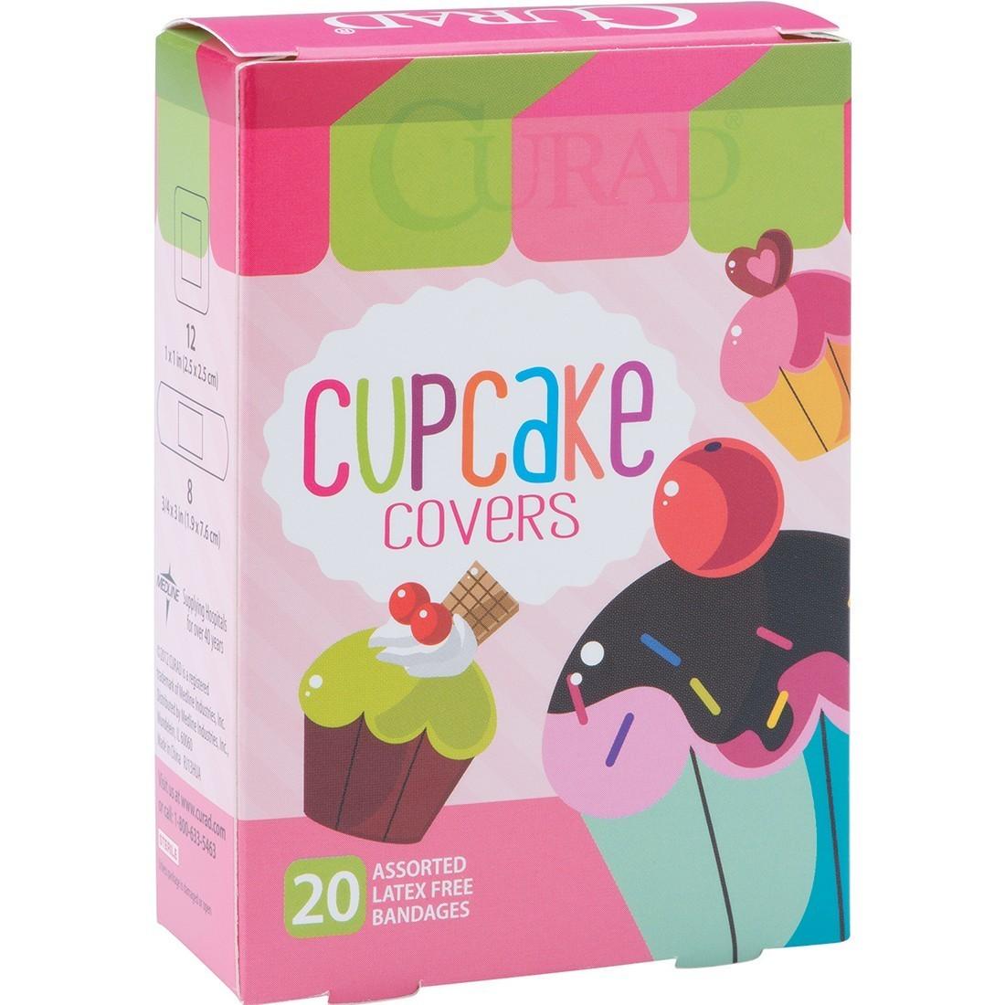 Curad® Cupcake Bandages [image]