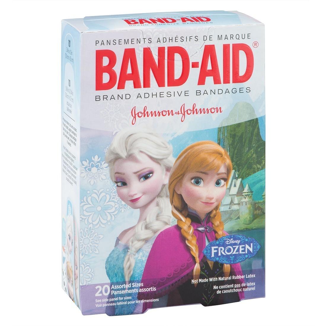 Band-Aid® Disney Frozen II Bandages - Case [image]