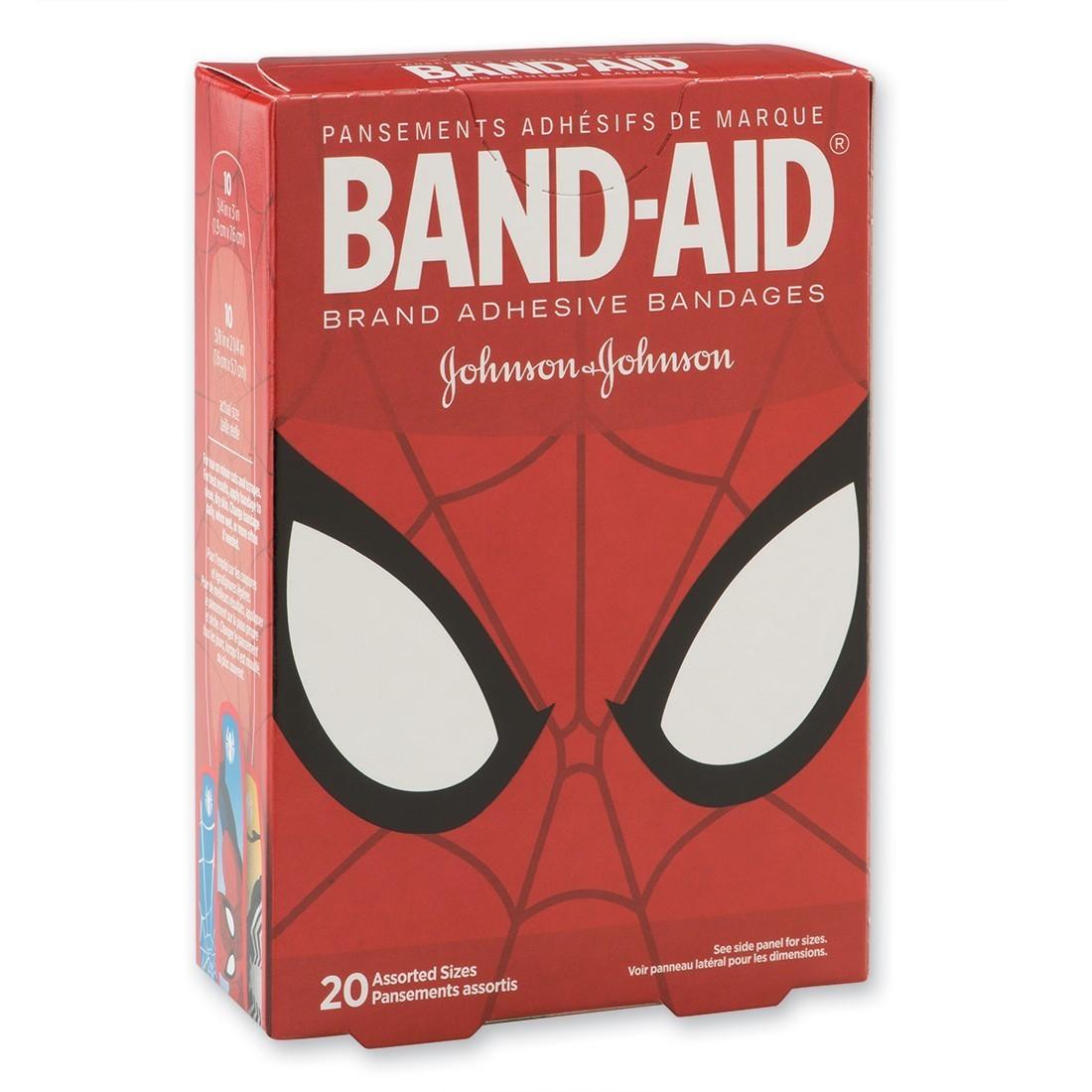 Band-Aid® Spider-Man Bandages [image]