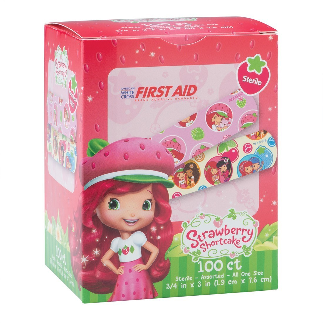 First Aid Strawberry Shortcake Bandages [image]