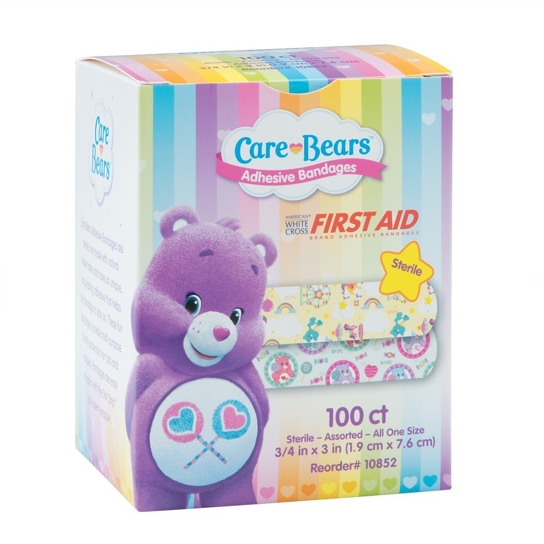 First Aid Care Bears Bandages [image]