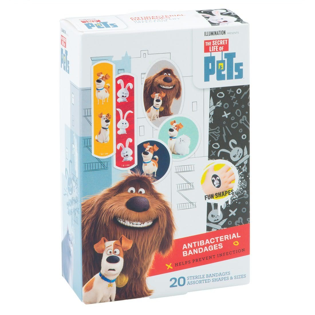 The Secret Life of Pets Antibacterial Bandages [image]