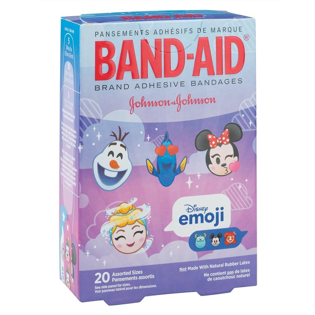 Band-Aid® Disney Emoji Bandages [image]
