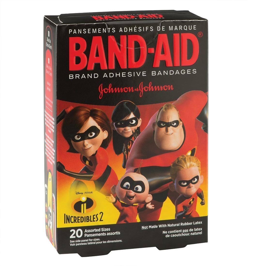 Band-Aid® Disney Pixar Incredibles 2 Bandages [image]