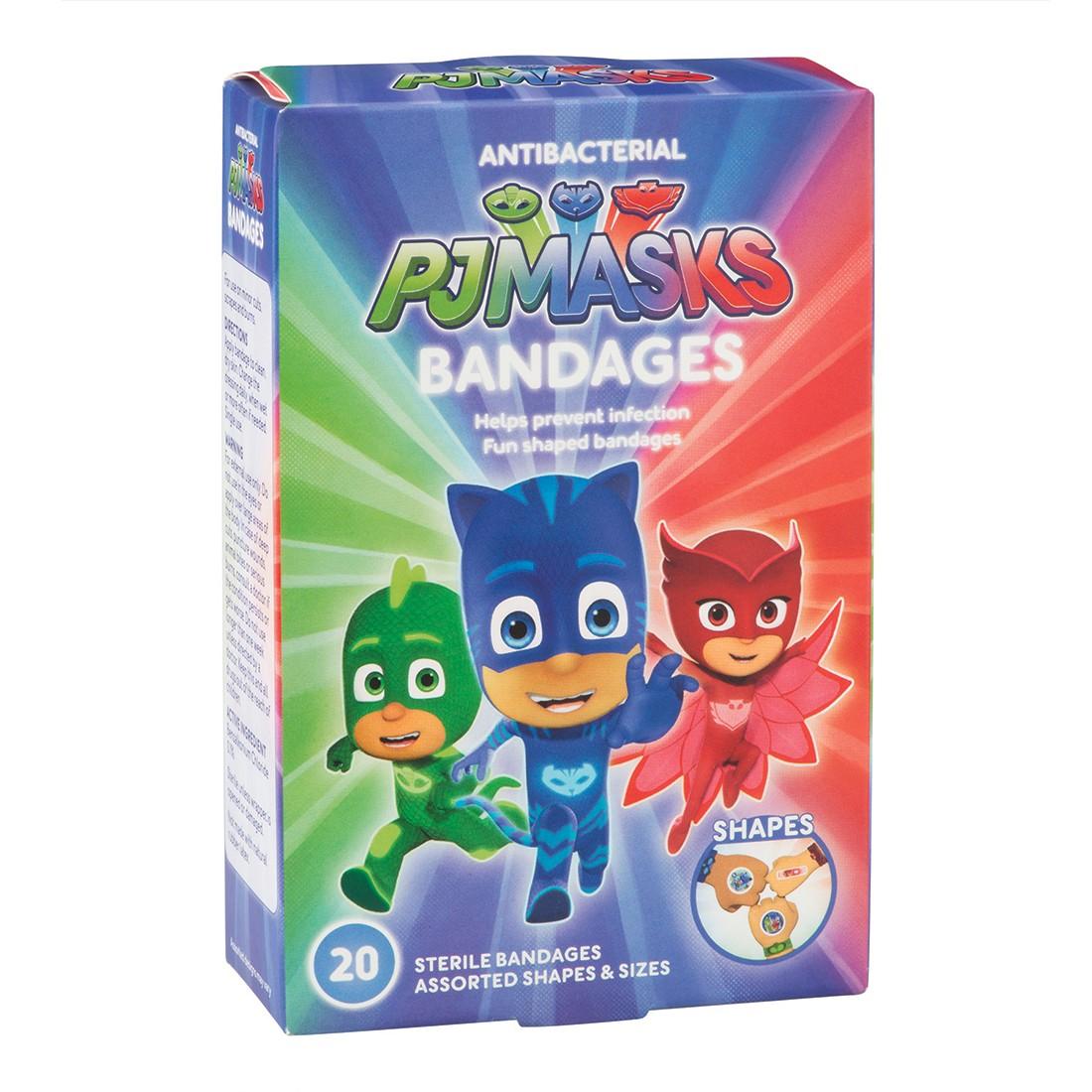 PJ Masks Antibacterial Bandages [image]