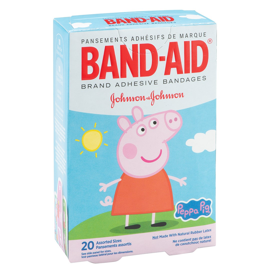 BAND-AID® Peppa Pig Bandages  [image]