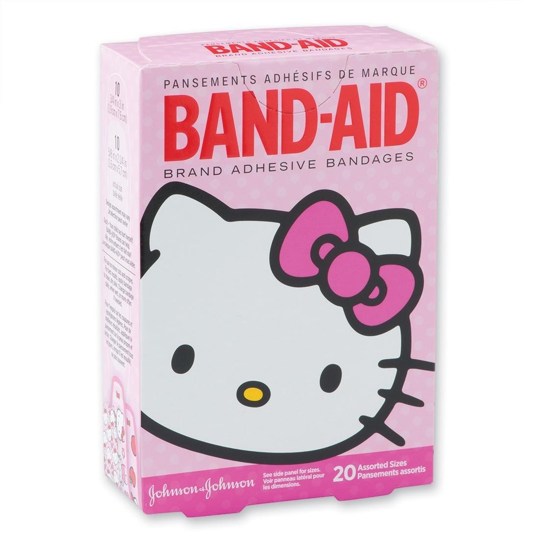 Band-Aid® Hello Kitty® Bandages [image]