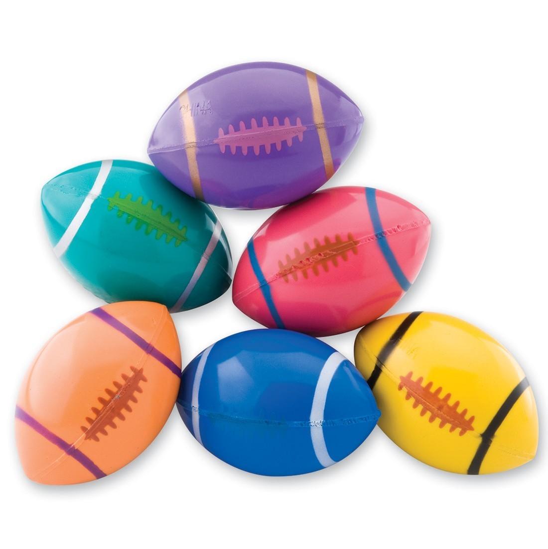 51mm Colorful Football Bouncing Balls [image]