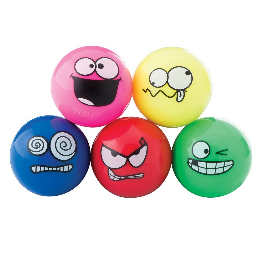 29mm Crazy Face Bouncing Balls  [image]