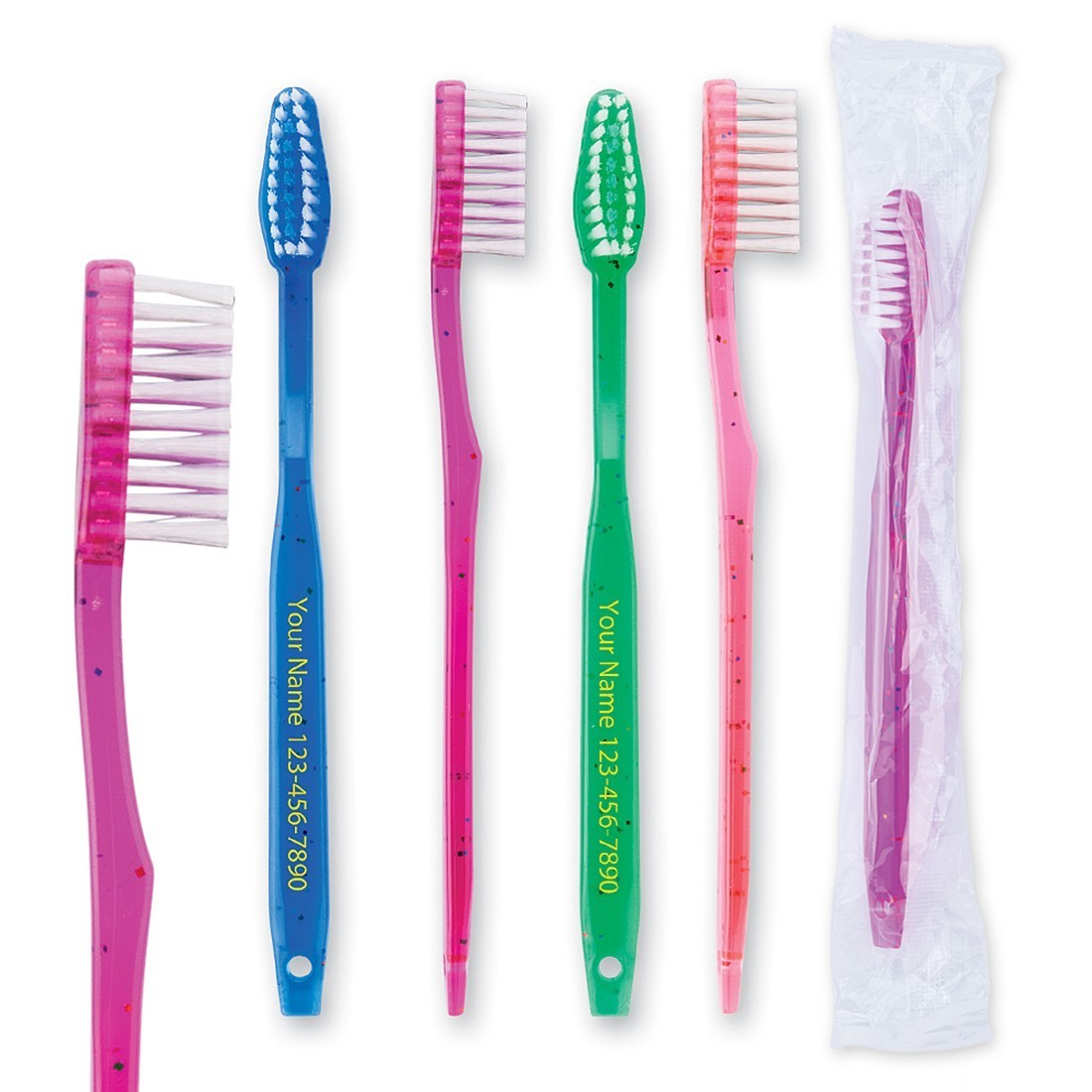 Custom Pre-Teen Sparkle Toothbrushes [image]