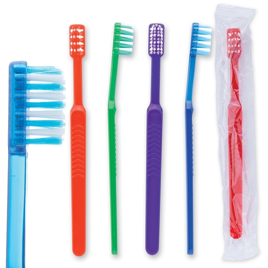 OraLine Pre-teen Orthodontic V-Trim Toothbrush [image]