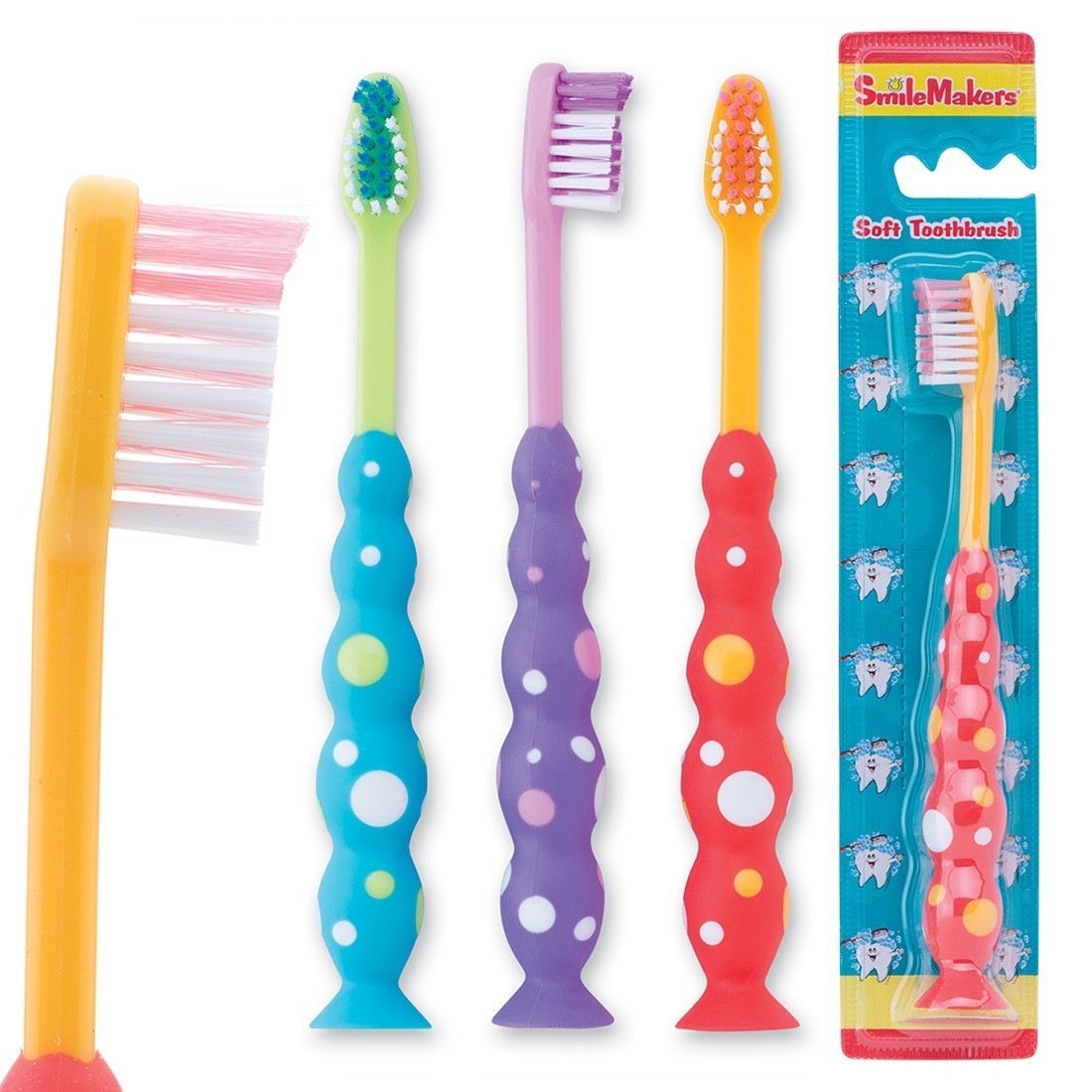 SmileCare Toddler Bubble Grip Toothbrush [image]