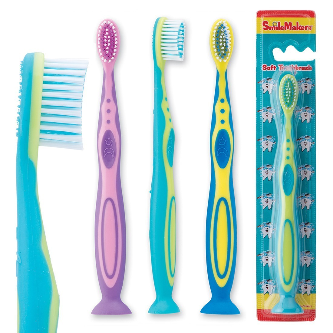 SmileCare Youth Fun Handle Toothbrushes [image]