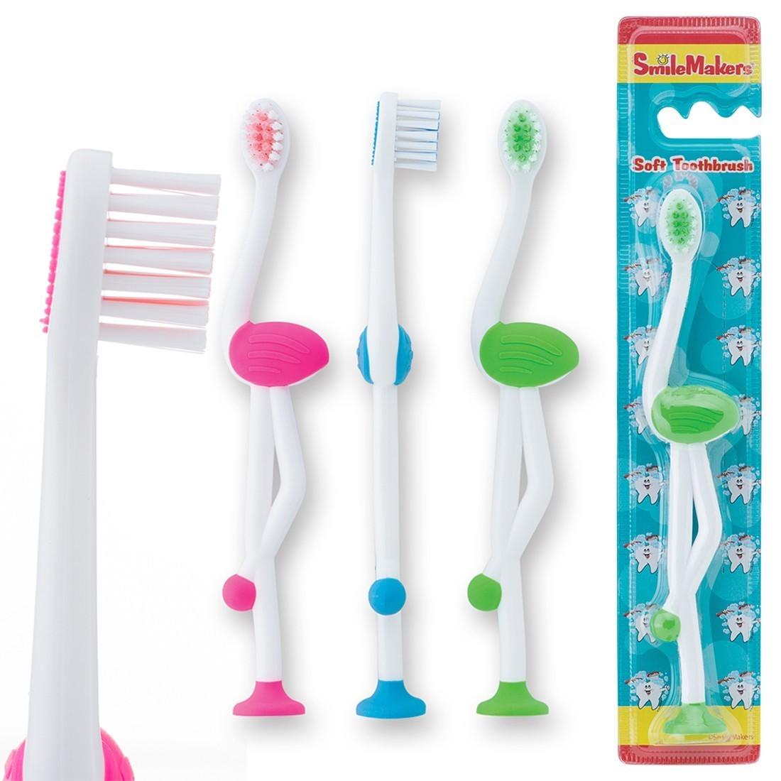 SmileCare Toddler Flamingo Toothbrushes [image]