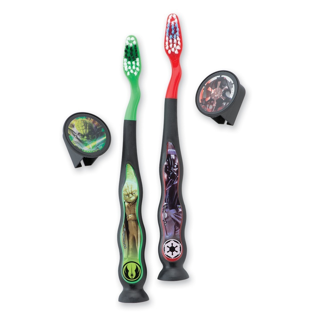 Youth Star Wars™ Suction Cup Travel Toothbrushes [image]