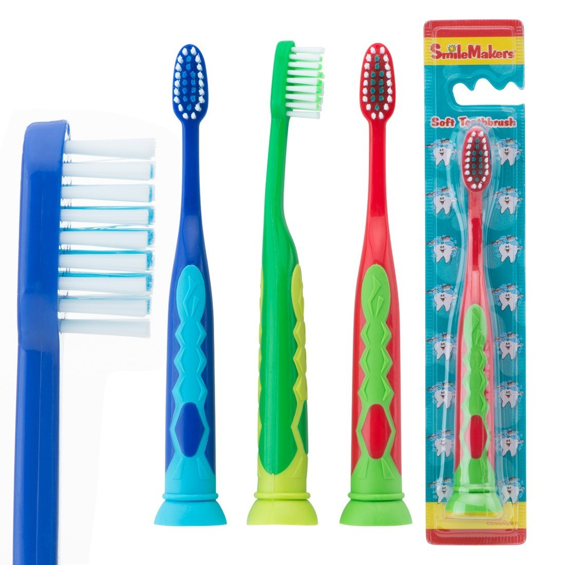 SmileCare Youth Suction Cup Toothbrushes [image]