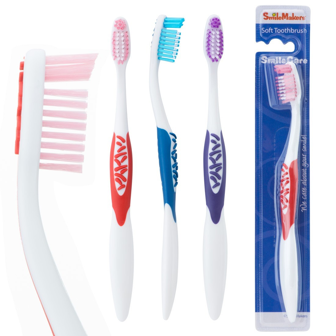 SmileCare Adult Sure Tip Toothbrushes [image]