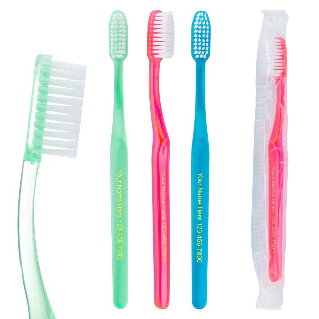 Custom SmileCare Adult Educare Toothbrushes [image]