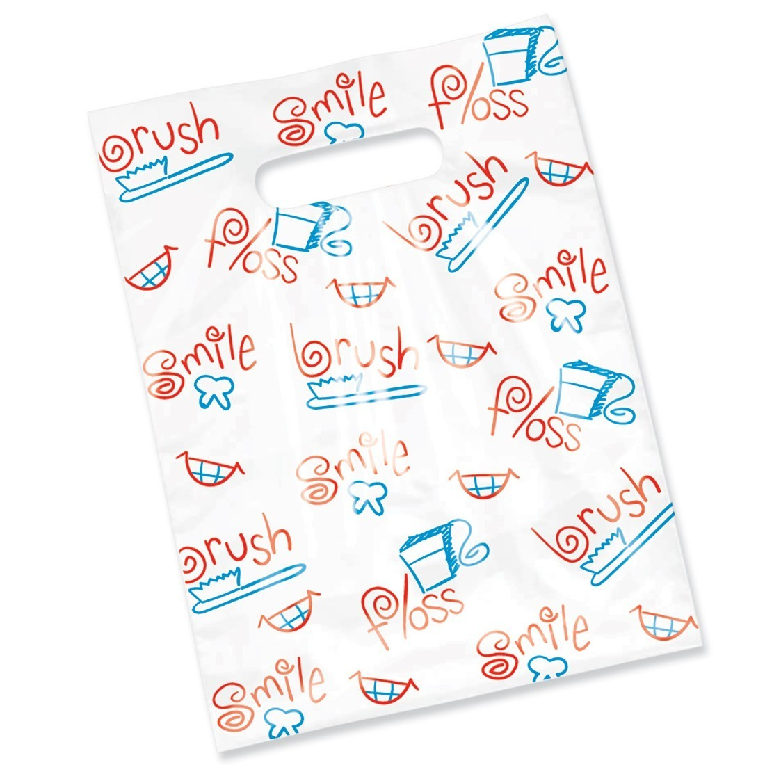 Large Scatter Brush, Floss, Smile Bags [image]