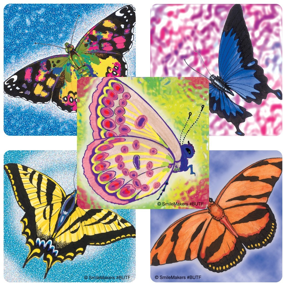 Butterflies Stickers                               [image]