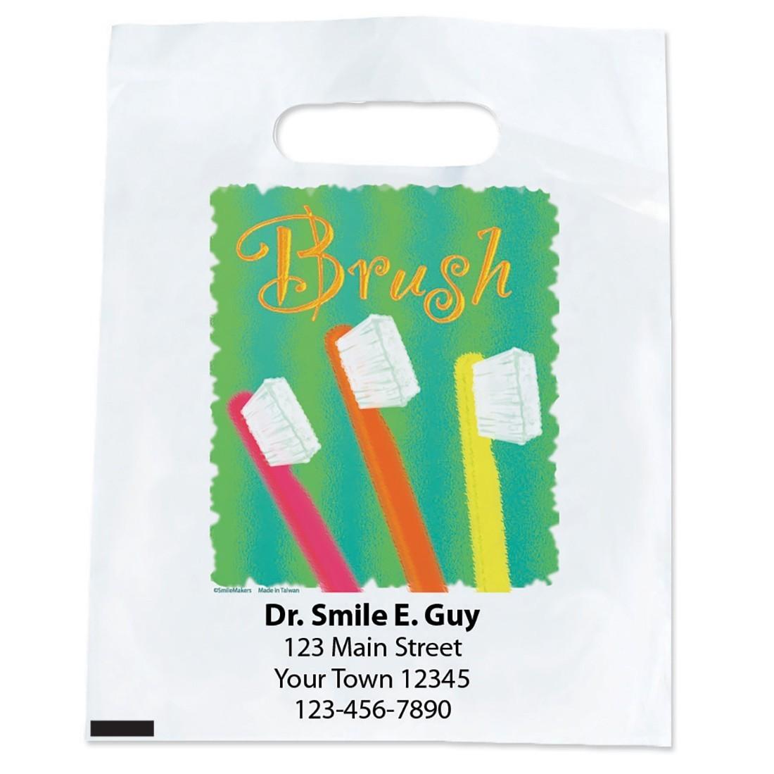 Custom Brush WaterColour Bags [image]