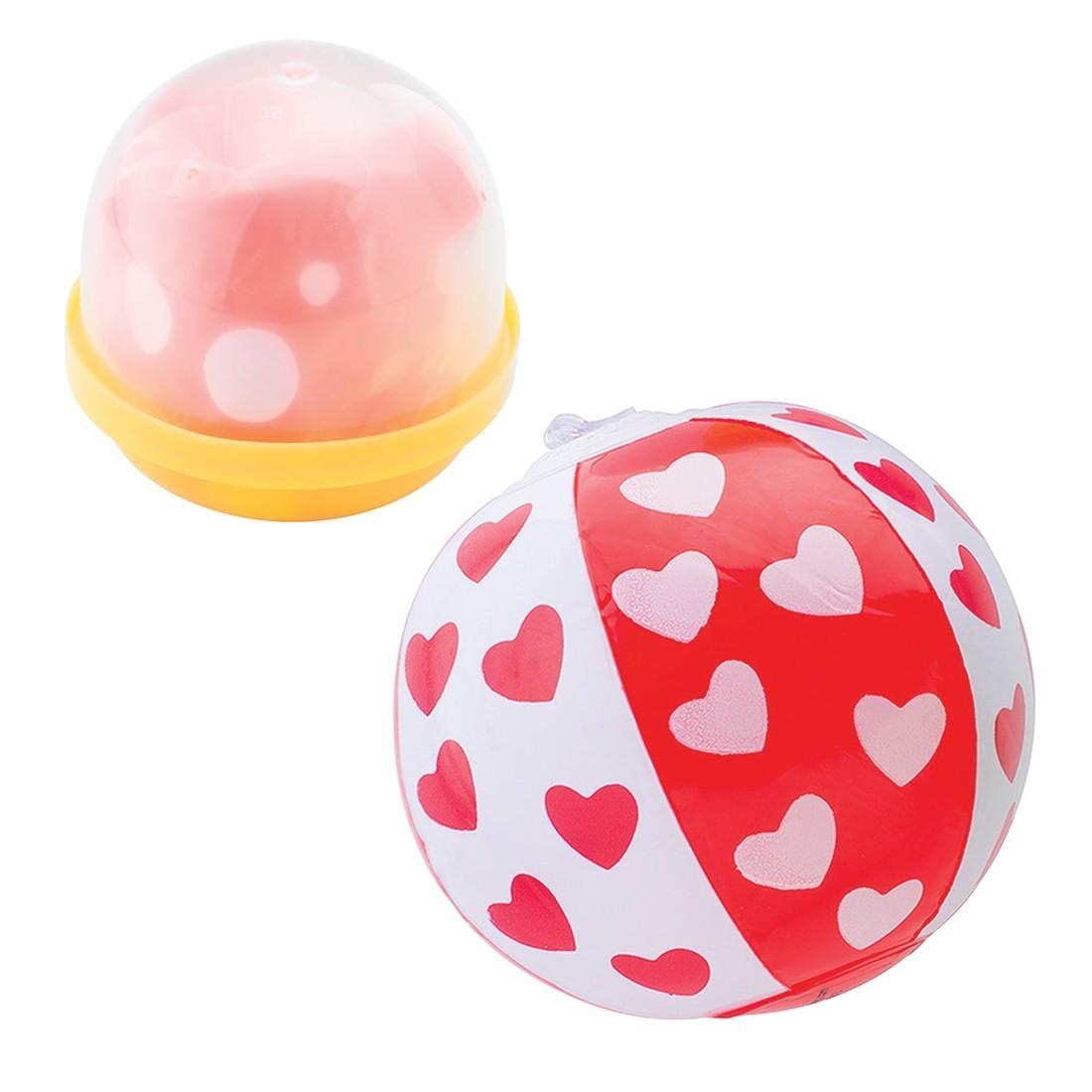 "Mini Beach Ball Assortment in 2"" Capsules [image]"
