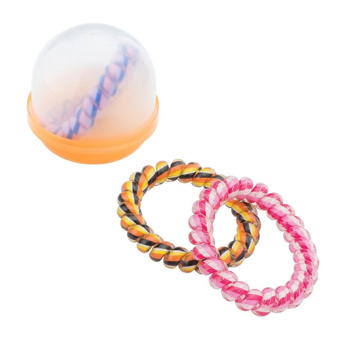"Fun Cord Bracelets in 2"" Capsules [image]"