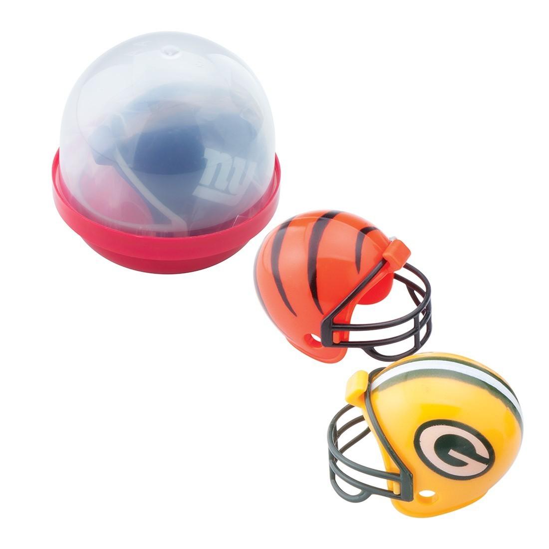 NFL Mini Football Helmets in 2'' Capsules [image]