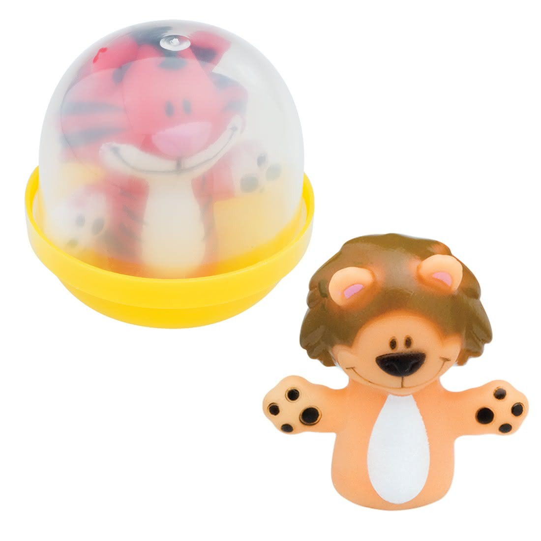 """Animal Finger Puppets in 2"""" Capsules [image]"""