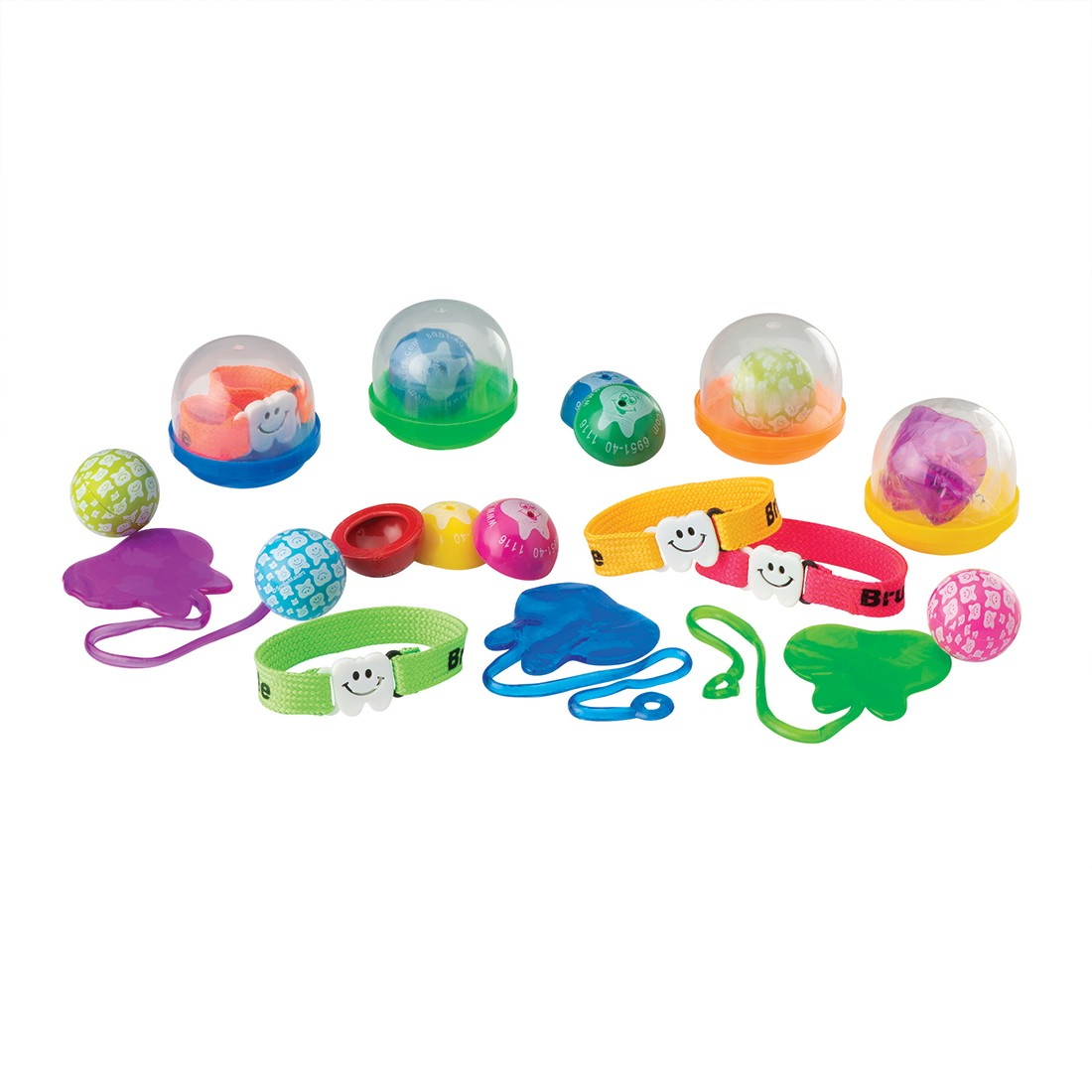 """Dental Toy Mix in 2"""" Capsules  [image]"""