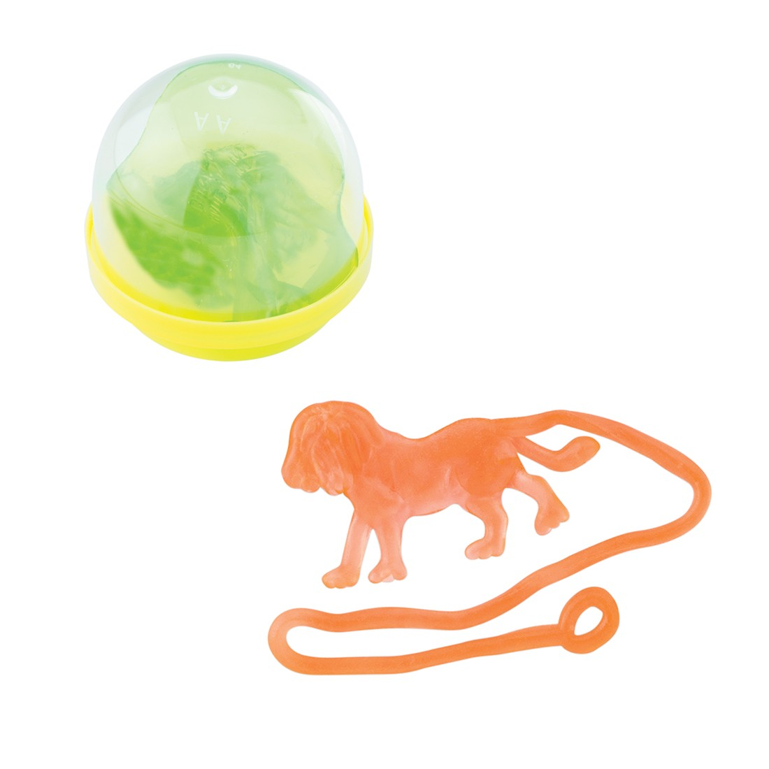 """Sticky Zoo Animals in 2"""" Capsules  [image]"""