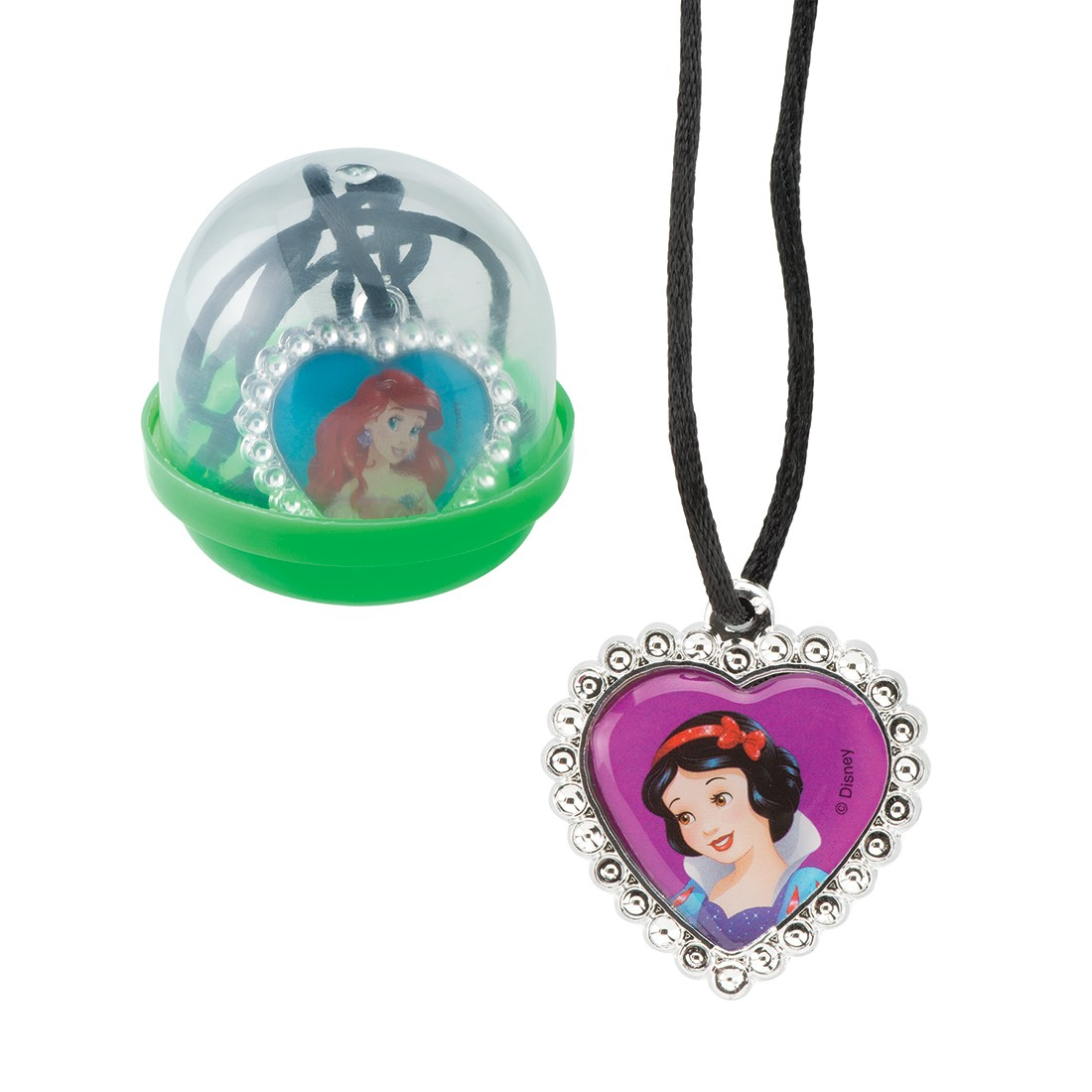 "Disney Princess Jewel Necklaces in 2"" Capsules [image]"