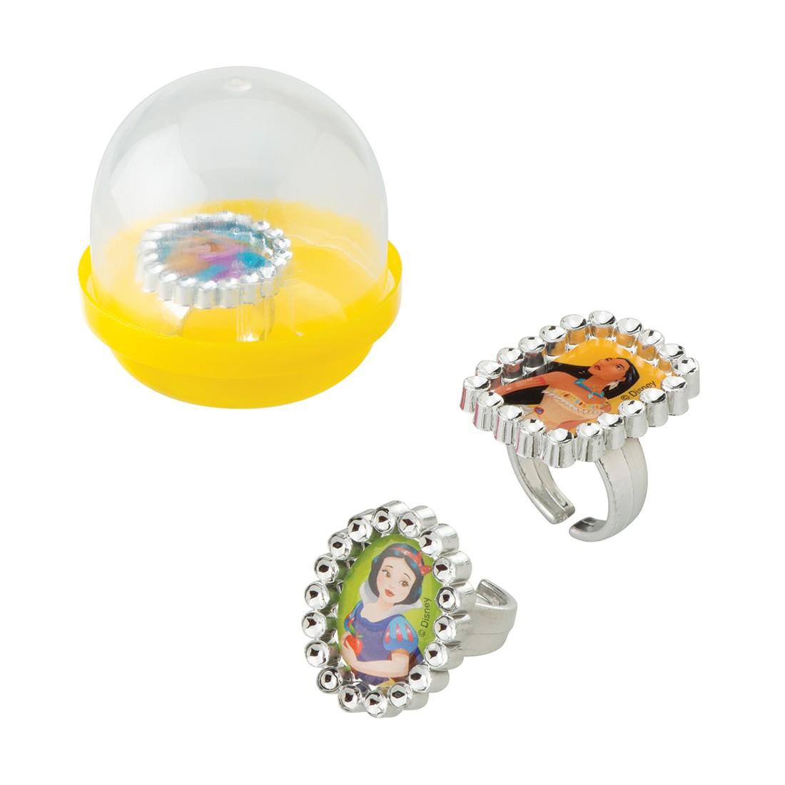 """Disney Princess Jewel Rings in 2"""" Capsules [image]"""