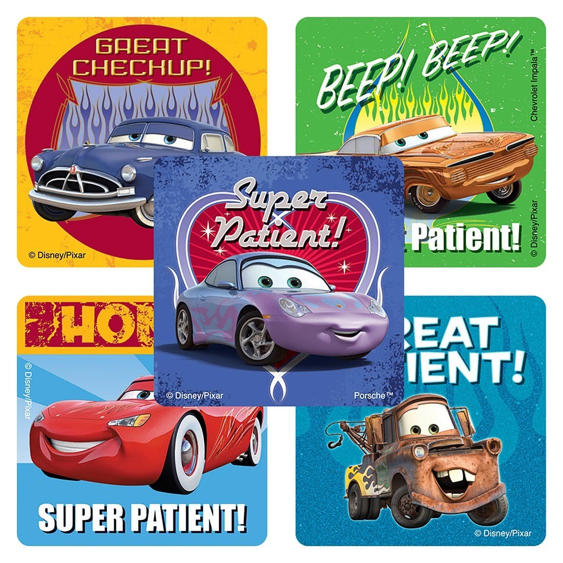 Disney*Pixar Cars Patient Stickers                 [image]
