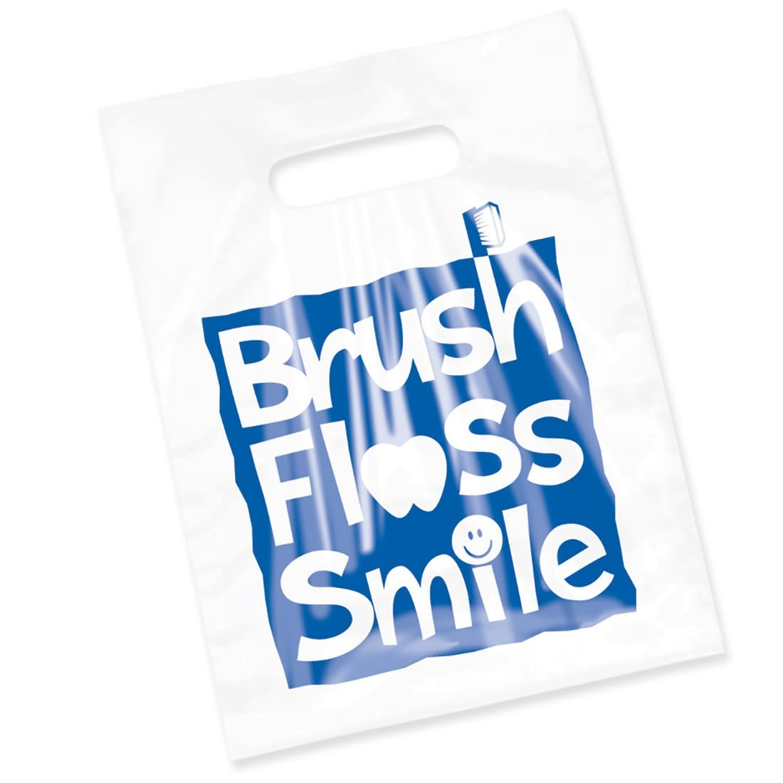 Clear Brush, Floss, Smile Bags                     [image]