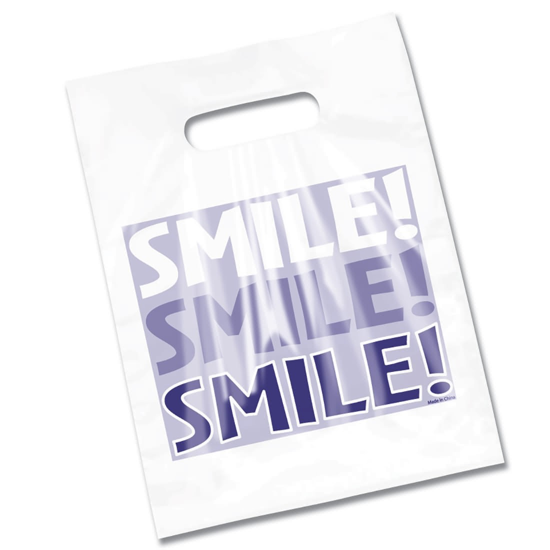 Clear Smile Smile Smile Bags                       [image]