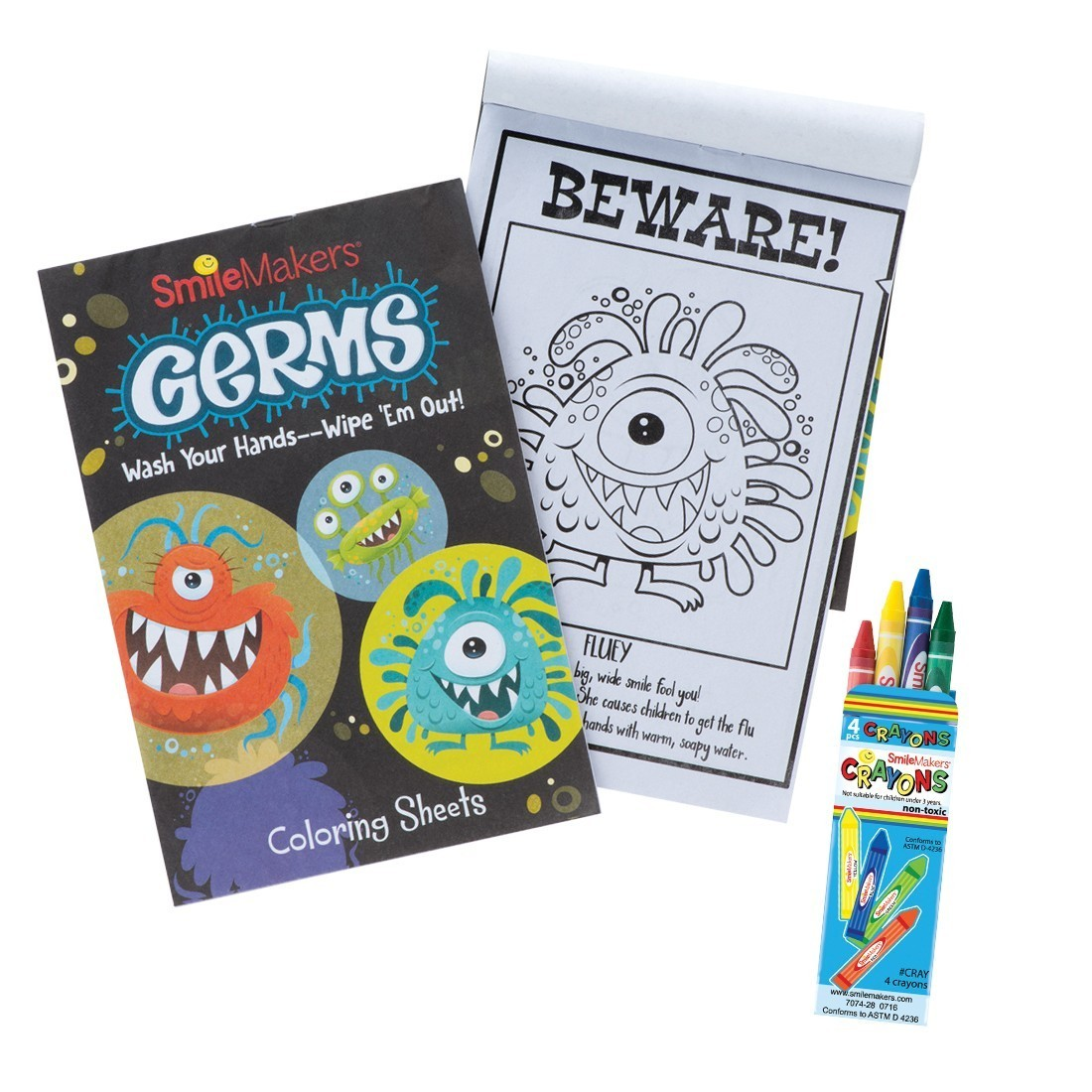 Germ Squad Coloring Value Pack  [image]