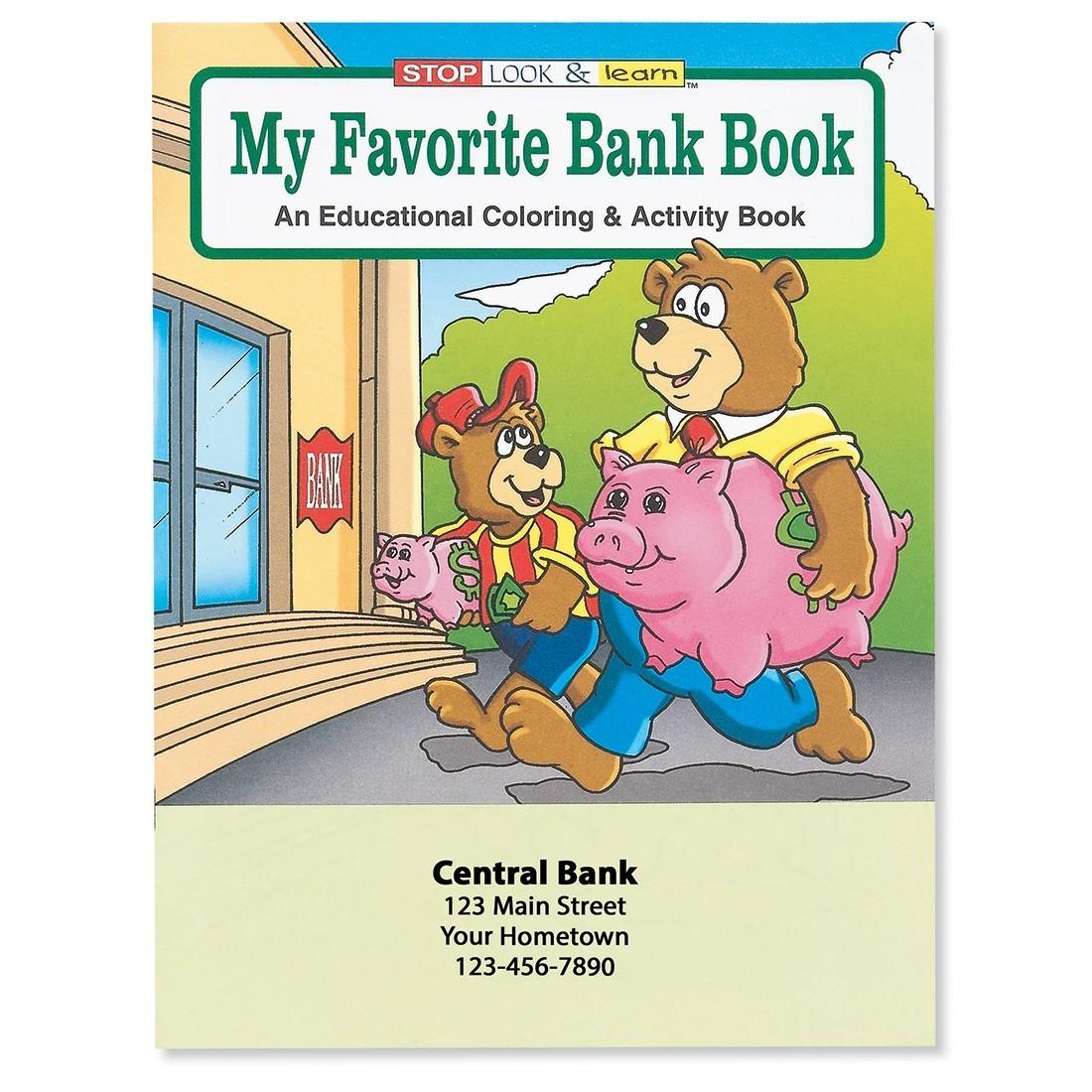 Custom Favorite Bank Coloring Book [image]