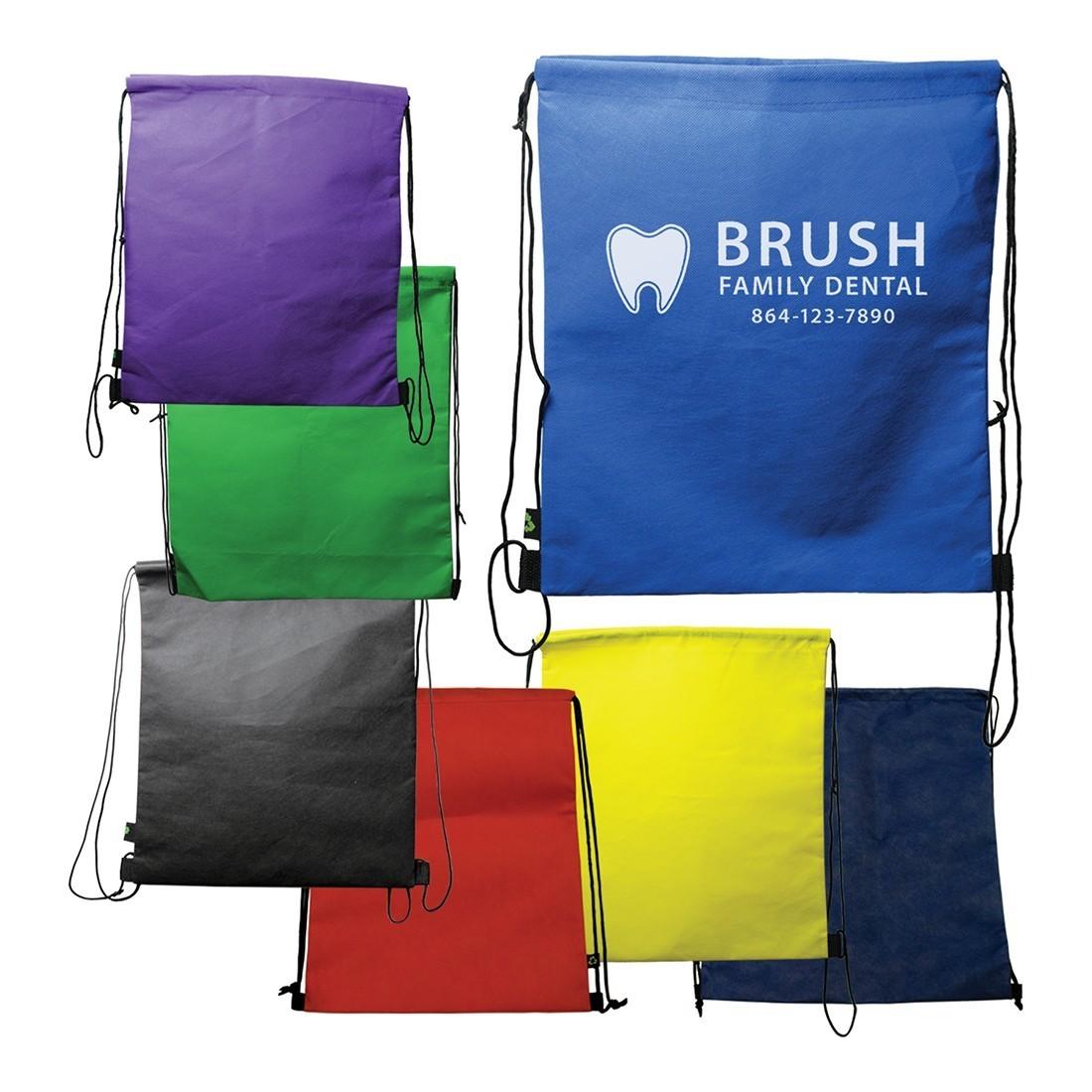 "Custom 14"" x 16"" Drawstring Backpack [image]"