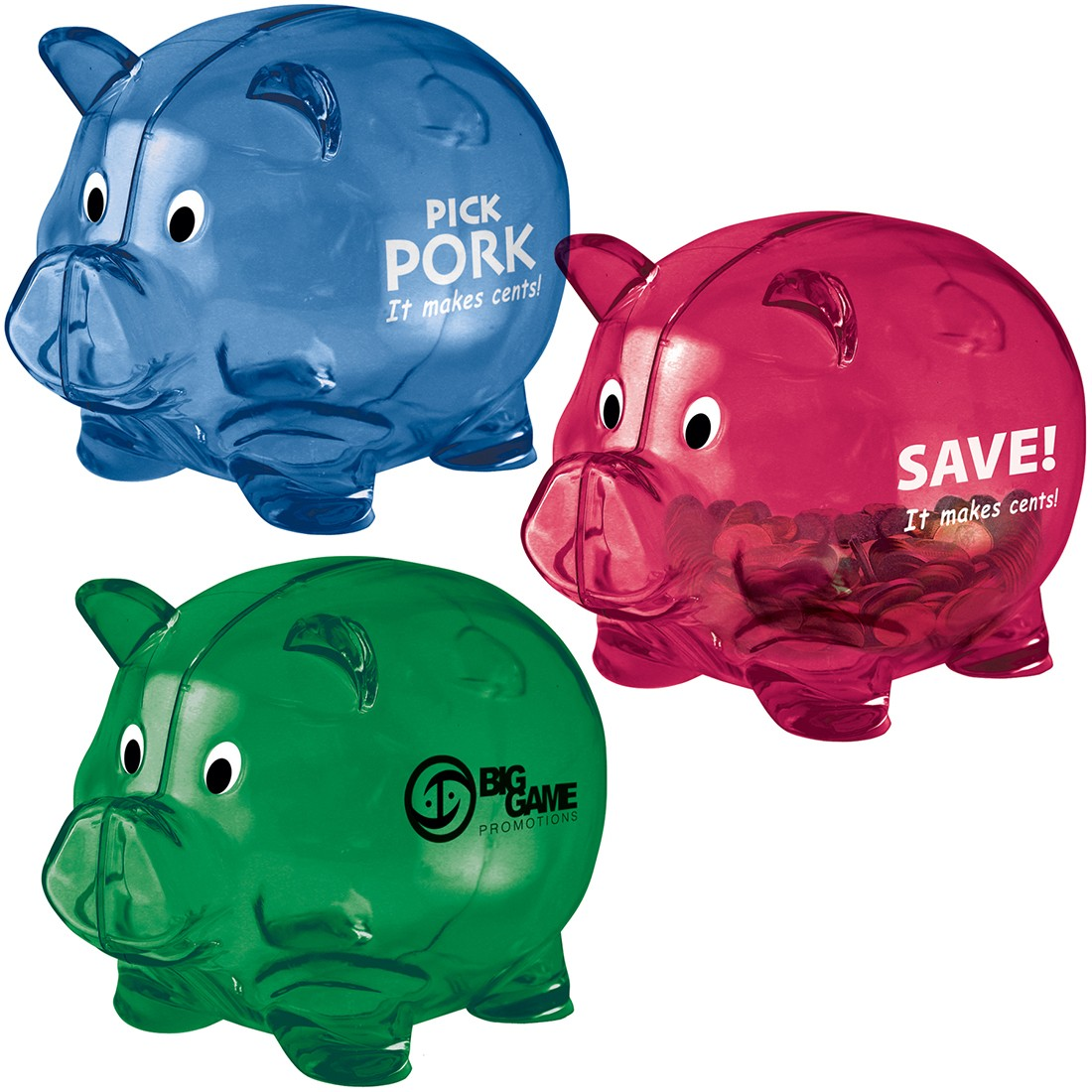 Custom Large Piggy Banks [image]