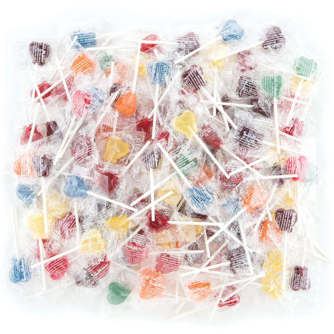 Dr. John's® Xylitol Tooth Shaped Lollipops [image]