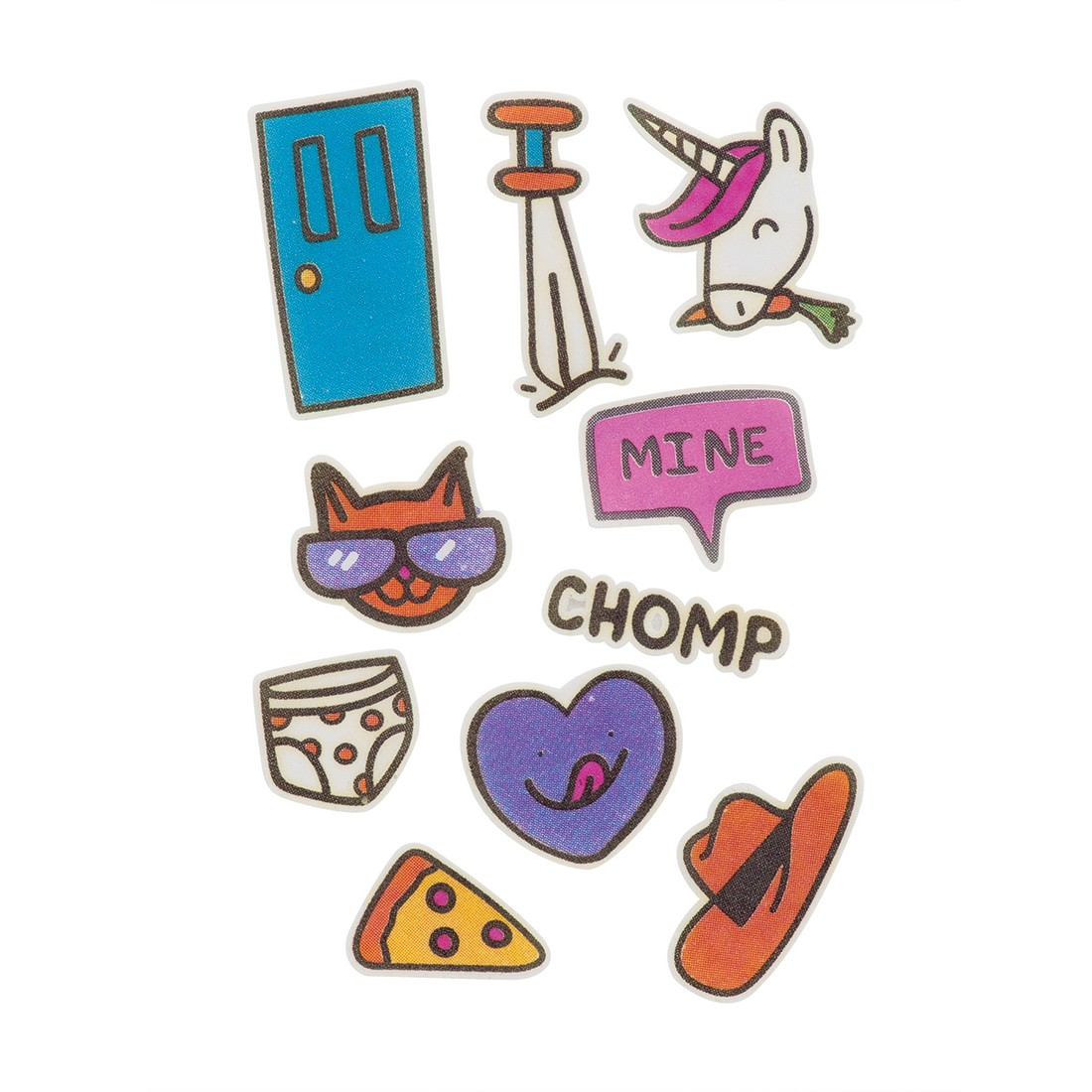 Doodle Dums StickyLickits Edible Sticker Packs [image]