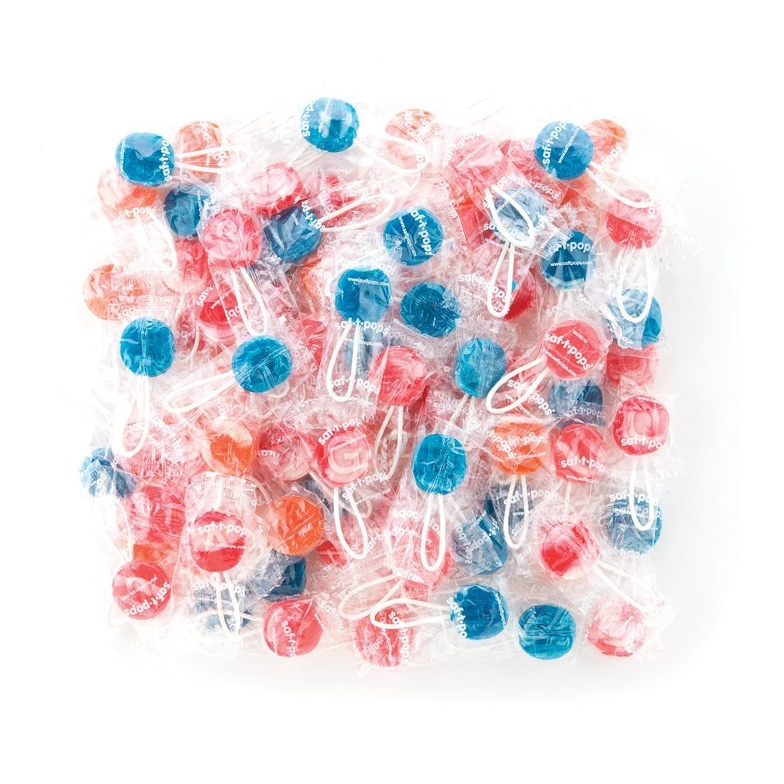 Bulk Saf-T-Pops® Swirl Lollipops [image]
