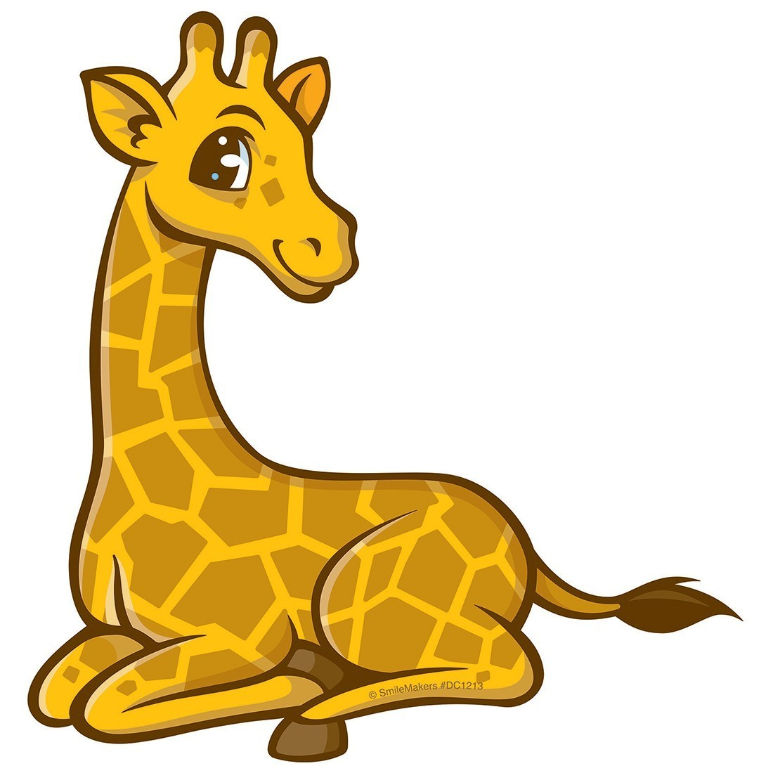 Jungle Friends Giraffe Wall Cling - Office Decor from SmileMakers