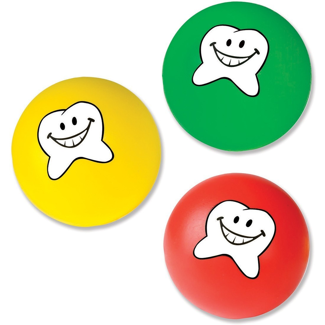 Happy Tooth Stress Balls [image]