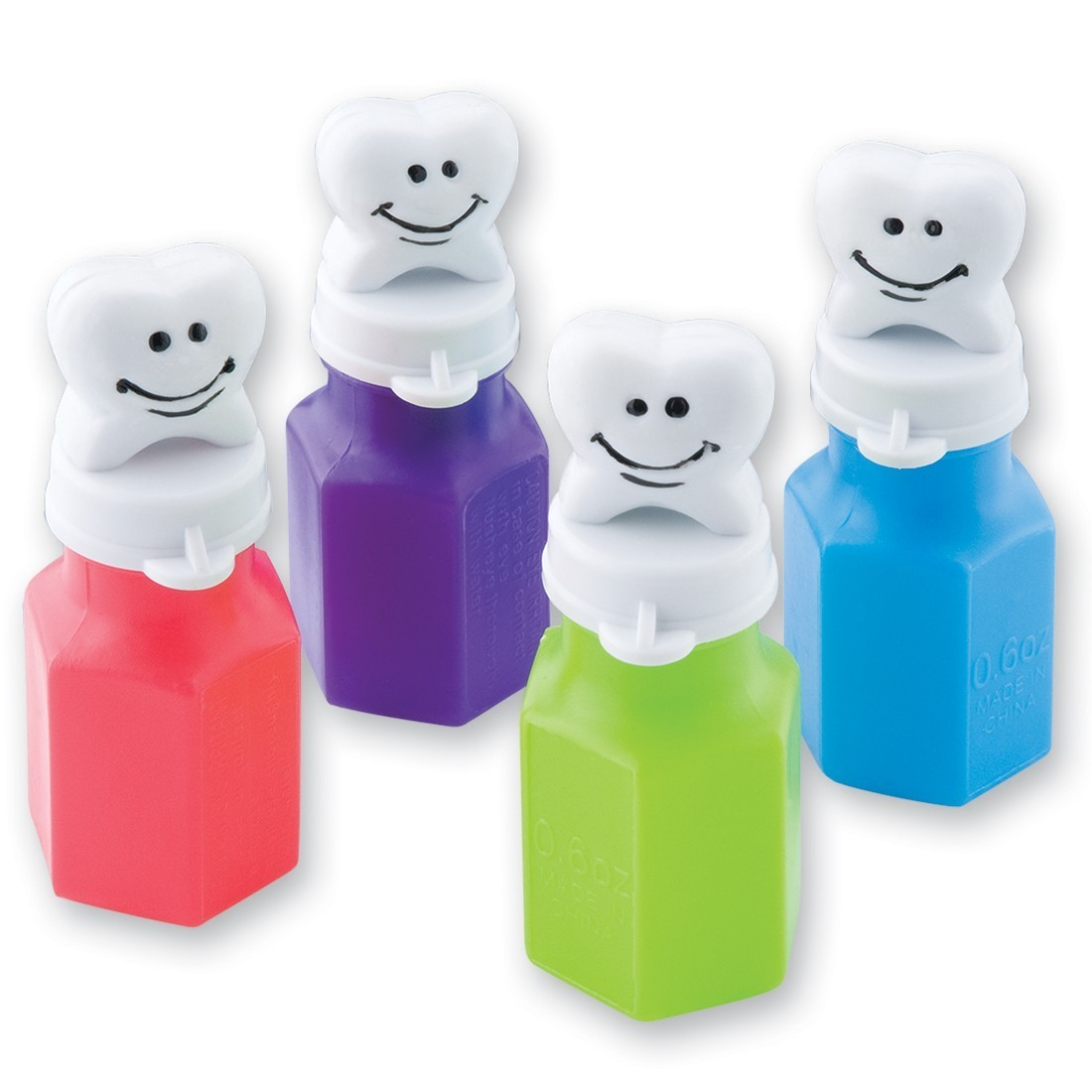Happy Tooth Figure Bubbles [image]