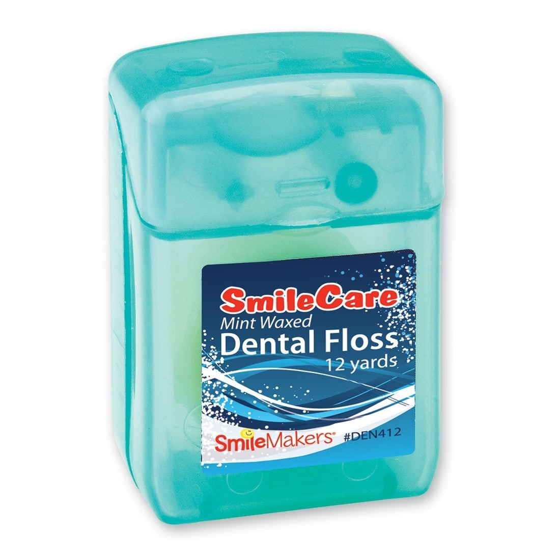 12 Yards SmileCare Waxed Mint Floss [image]