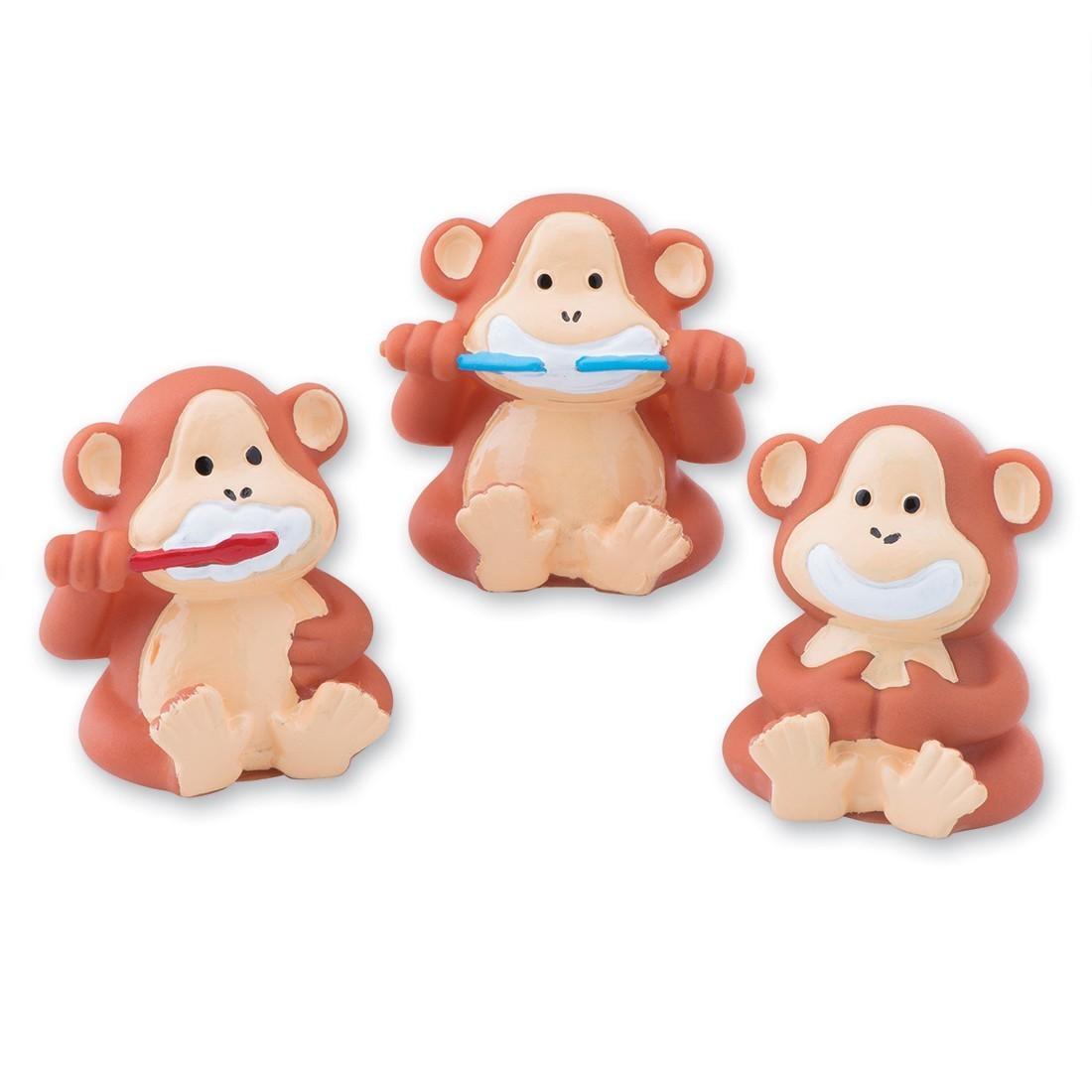 Brush Floss Smile Monkey Finger Puppets [image]