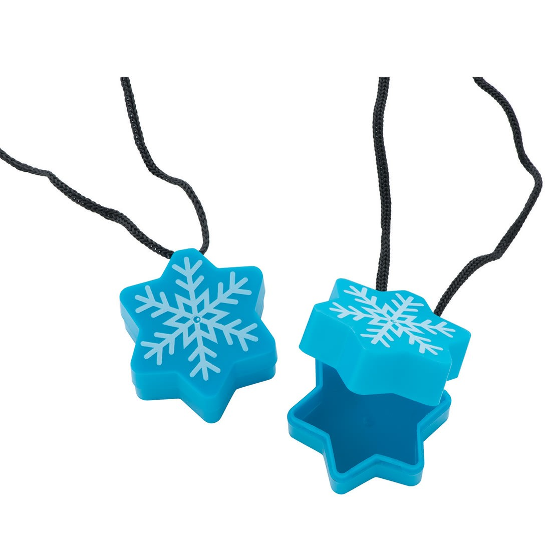Snowflake Tooth Holder Necklaces [image]